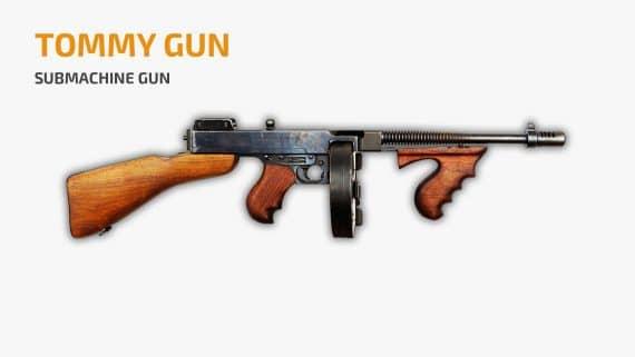 Tommy Gun PUBG