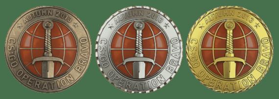 Медали Браво