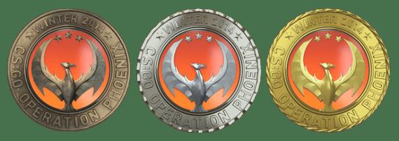 Медали Феникс
