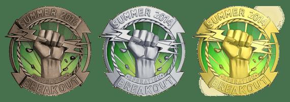 Медали Прорыв