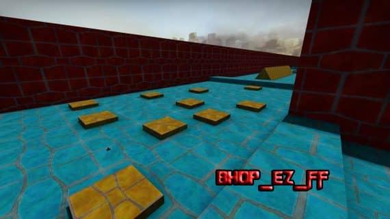 Карта bhop_ez_ff для CS:GO