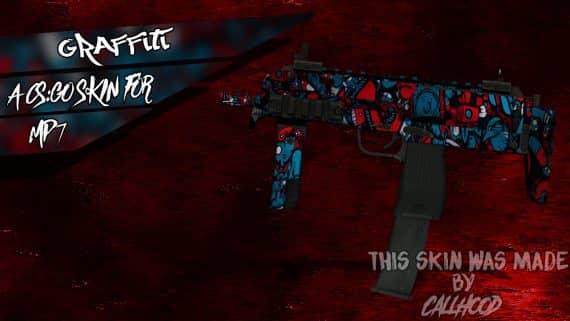 MP7-Graffiti скин для CS:GO