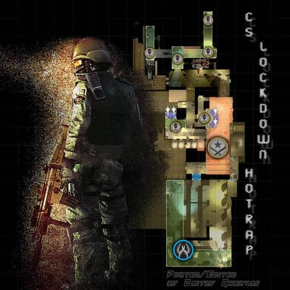 CS_Lockdown_Hotrap карта для CS:GO