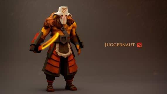 Juggernaut в Dota 2 2