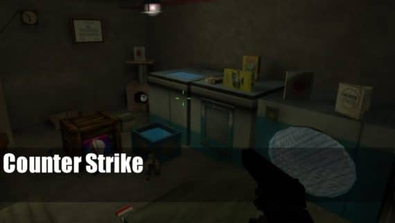 de_cellarrats карта для CS:1.6