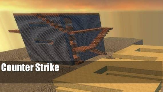 zm_minecraft_builder_village_beta карта для CS:S