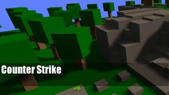 bhop_simpletrees карта для CS:S