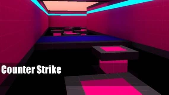 bhop_neonrider карта для CS:GO