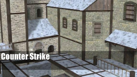 de_snowfortess карта для CS:1.6